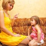 Как правильно ругать детей?