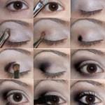 Как правильно нанести макияж на глаза