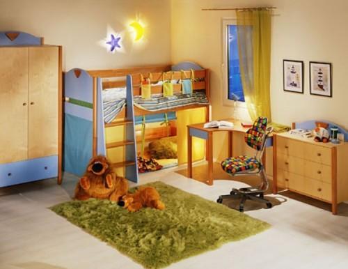 Как правильно обустроить детскую комнату?
