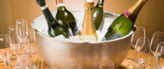 Как правильно пить шампанское?
