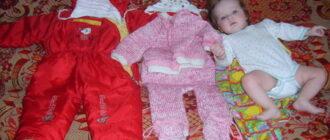 Как правильно одевать маленького ребенка?
