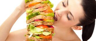 Как правильно утолить голод?