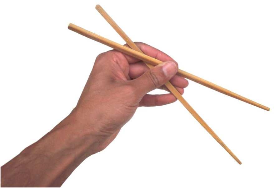 Как правильно пользоваться китайскими палочками
