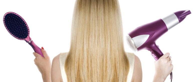 Как правильно сушить волосы