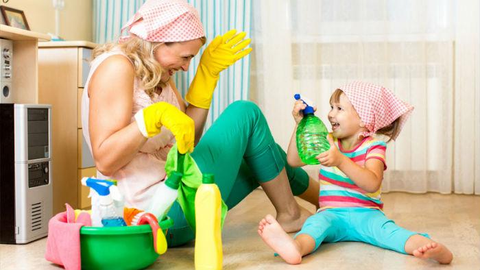 Как правильно убираться дома